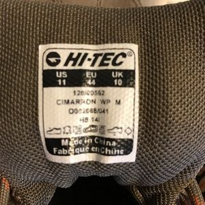 Hi-Tec Shoes - Men's Hi-Tec Cimarron WP hiking boots